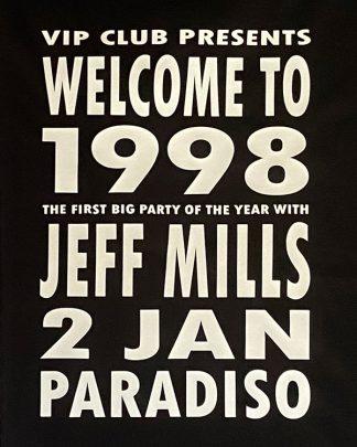 100% Organic Ladies T-shirt The Wizard Jeff Mills