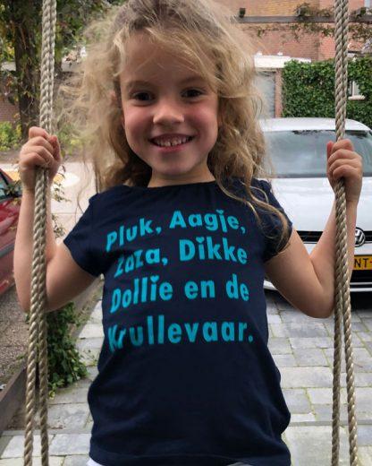 100% Biologisch Kinder T-shirt Pluk van de Petteflet