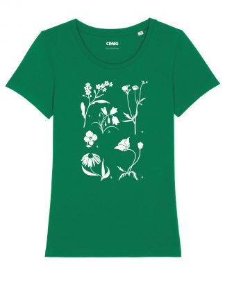 100% Organic T-shirt Wildflowers