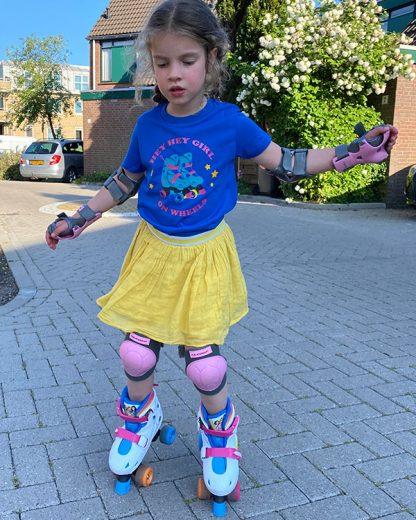 100% Organic Kids T-shirt Rollerskates