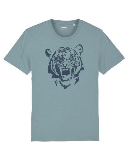100% Biologisch Tijger T-shirt voor mannen