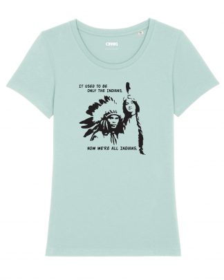 Organic Woman T-shirt Indians